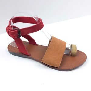 NEW Free People Torrance Sandals Tri-Color